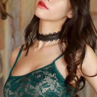 诱惑性感情趣蕾丝颈环喵咪装脖子情趣项链COS动漫制服内衣配饰女