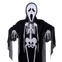欢乐童年-万圣节COS装扮服装化妆舞会服饰万圣节服装 衣服 骷髅骨架鬼衣 儿童 恐怖面具