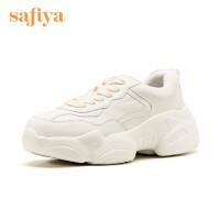 Safiya/索菲娅秋季休闲小白鞋老爹鞋单鞋女SF93112016