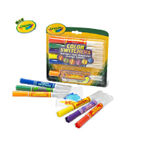 Crayola 绘儿乐 儿童 6色 水彩笔 双头变色 进口