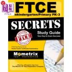 【中商海外直订】FTCE Prekindergarten/Primary Pk-3 Secrets Study Gui