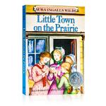 草原上的小镇Little Town on the Prairie 木屋的故事系列 英文原版小说 纽伯瑞儿童文学奖小说