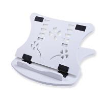 笔记本支架桌面颈椎办公室电脑升降便携托架散热器架子增高垫底座 白色 笔记本支架