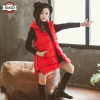 儿童秋冬马甲2018新款韩版背心外套中大童外穿棉马夹女孩