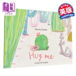 抱抱我 英文原版 Hug Me 亲子故事绘本 成长与友谊 Simona Ciraolo 3-6岁