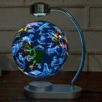 办公室摆件 发光自转磁悬浮地球仪台灯办公室书房教学摆件公司创意礼品装饰品