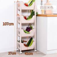 厨房置物架落地多层收纳架子蔬菜用品用具小百货筐寝室宿舍神器