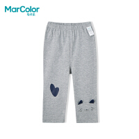 【领券119元4件】巴拉巴拉旗下MarColor马卡乐夏新品女童舒适卡通图案中裤