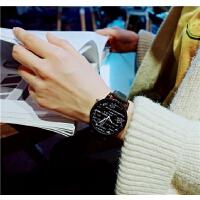 手表女学生韩版简约个性潮流ulzzang休闲男物理公式学霸情侣一对