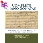 【中商海外直订】Complete Piano Sonatas: Peters Edition