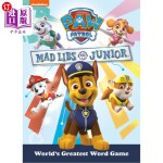 【中商海外直订】Paw Patrol Mad Libs Junior