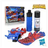 正版原装 超凡蜘蛛侠吐丝喷丝喷水2合1 喷射器手套玩具套装 包邮