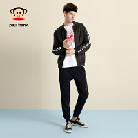 [商场同款]PaulFrank/大嘴猴男装2018新款轻薄夹克防晒服外套