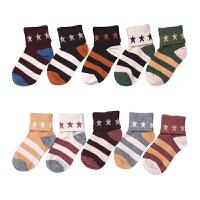 儿童袜子秋冬7-9岁保暖宝宝袜子冬男女童可爱小学生
