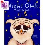 【中商海外直订】Night Owls Activity Book