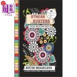 【中商海外直订】Stress Busters: coloring book for Adults