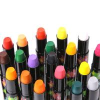 美乐儿童蜡笔 无毒丝质旋转蜡笔 可水洗宝宝彩色油画棒婴幼儿食用级画笔套装