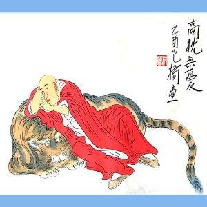 中国国画院副院长,南京国画院院长范扬(高枕无忧)