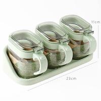 调料盒套装家用玻璃调味罐套装调味瓶盐罐糖罐调料罐套装厨房用品