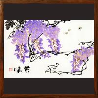 《紫气》周玉兰【R4496】浙江美协 油画家协会会员