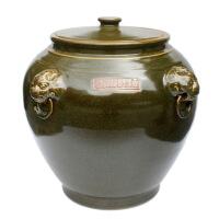 景德镇陶瓷器米缸水油缸储物面粉罐摆件米桶带盖有大号创意