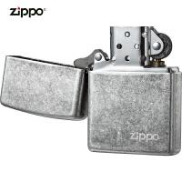 zippo芝��打火�C美��正版原�b121FBZL-A-000018仿古�y商��
