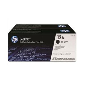 HP 惠普LaserJet Q2612AF 双包硒鼓套装