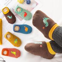 宝宝地板袜 fang滑秋冬 加厚0婴儿1学步2早教袜子鞋3岁男女棉款儿童