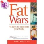 【中商海外直订】Fat Wars: 45 Days to Transform Your Body