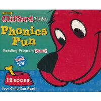 Clifford's Phonics Fun Box Set #1 (w/CD) 大红狗自然拼读法系列套装1(含CD)