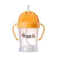保税区发货 美国Zoli 儿童学饮水杯重力球吸管水杯 180ml 四色可选 包邮包税