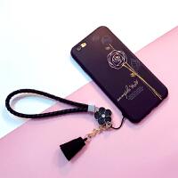 ��s浮雕玫瑰iphone6手�C��6s硅�z套�O果7plus防摔�6p�炖K男女款手�K8x���