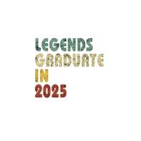 【预订】Legends graduate in 2025: Vintage Composition Notebook F