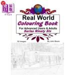 【中商海外直订】Real World Colouring Books Series 96