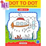 【中商海外直订】Dot To Dot: Connect the Dots Puzzle and Activity Bo