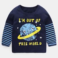 男童长袖T恤打底衫春装春秋童装儿童宝宝上衣小童0婴儿潮1岁3