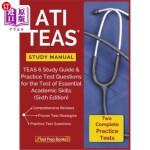 【中商海外直订】ATI TEAS Study Manual: TEAS 6 Study Guide & Practic