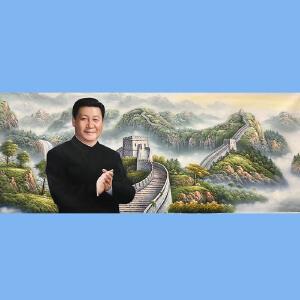 著名油画艺术家,福建省油画艺术协会常务理事曾新伟(习总书记)1