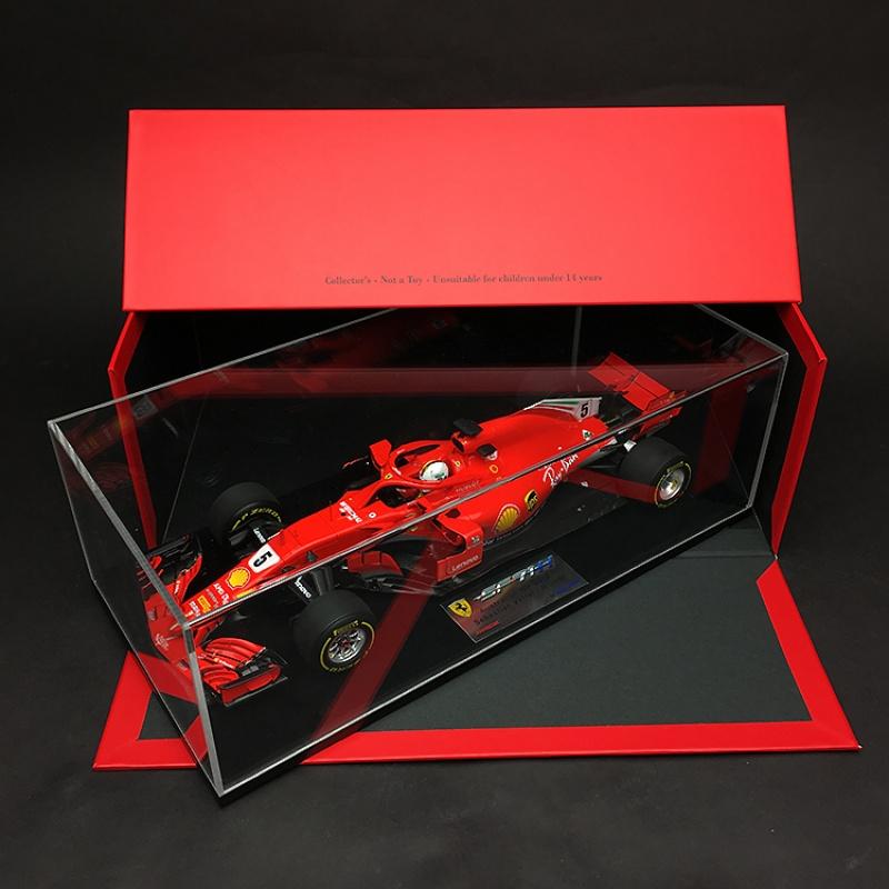 汽车模型Looksmart1:18法拉利F1赛车SF71H瓦特尔KIMI澳大利亚定制 瓦特尔澳大利亚站