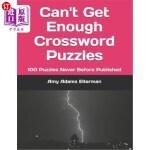 【中商海外直订】Can't Get Enough Crossword Puzzles: 100 Puzzles Nev