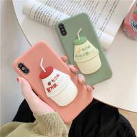 玩胜苹果6splus手机壳xr软硅胶女款iphone7/8p/xs Max/11Pro潮流创意可爱苹果x六七八全包防摔保
