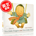 现货 十个手指和十个脚趾 英文原版 Ten Little Fingers Ten Little Toe 儿童绘本 亲子