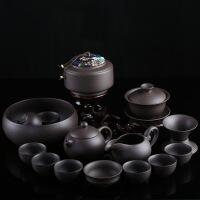 汝窑功夫茶具套装家用杯子6只装茶壶盖碗茶杯泡茶器简约陶瓷茶具