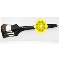 进口华虹牛耳毛油画丙烯 水彩画笔 112系列套装8支全套装板刷排刷绘画用品8支装+送品