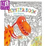 【中商原版】Alice Hoogstad 怪兽书 英文原版 Monster Book 精装