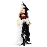 德必胜MMgirl十二星座芭比娃娃双子座娃娃14关节生日礼物公主娃娃玩具定制 十二星座-双子座 30CM买就送支架+梳