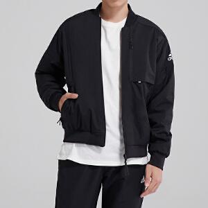 adidas阿迪达斯男装外套夹克飞行领休闲运动服DX7192