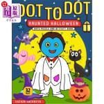 【中商海外直订】Dot To Dot: Haunted Halloween Dots Puzzle and Activ