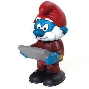 [当当自营]Schleich 思乐 蓝精灵系列 主管蓝精灵系列 仿真塑胶模型收藏玩具动漫周边 S20769