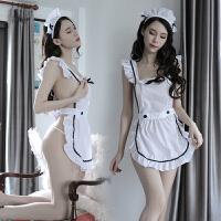 情趣内衣女式情大码性感透明制服激情诱惑乖巧可爱女仆女佣套装